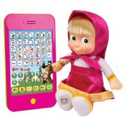 """Мягкая игрушка Мульти-Пульти """"Маша с планшетом"""" (м/ф Маша и медведь)"""