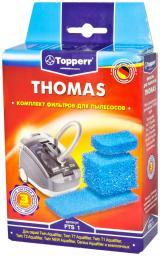 Набор губчатых фильтров Topperr 1107 FTS 1 для пылесосов THOMAS Aquafilter