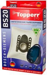 Фильтр синтетический Topperr 1401 BS20 для пылесоса BOSCH-SIEMENS (Тип A,B,C,D,E,F,G,H) 4 шт.в ед.