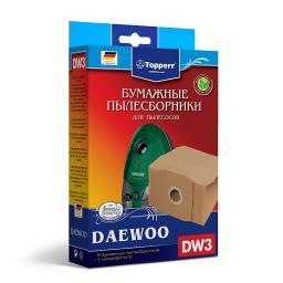 Фильтр для пылесоса DAEWOO RC-300...8000 Topperr 1003 DW 3, 5 шт.в ед.