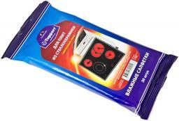 Topperr 3621 Влажные салфетки для стеклокерамических плит, 30 шт.