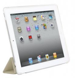 Чехол-накладка HyperShield HSGHWHITECLEAR для iPad2  пластиковый, White