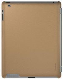Чехол-накладка XtremeMac для iPad2, Microshield SCL, кожаный бежевый (PAD-MC2L-63)