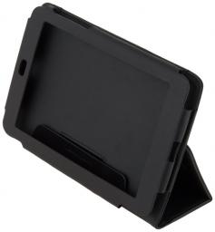 Чехол LaZarr Booklet Case для Google Nexus 7, эко кожа, черный
