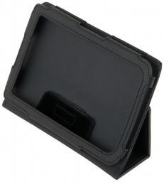 Чехол LaZarr Booklet Case для PocketBook Touch 622, эко кожа, черный