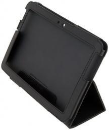 Чехол LaZarr Booklet Case для Samsung Galaxy Tab 2 (10.1)-GT-P5100/5110, эко кожа, черный
