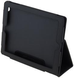 Чехол LaZarr Convert Case для The New IPad, эко кожа, черный