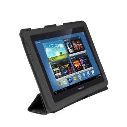 Чехол LaZarr Protective Case для Samsung Galaxy Note (10.1) GT-N8000, эко кожа, черный