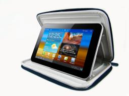 "Чехол LaZarr Ultra Case для планшетов 7"", кожа, синий"