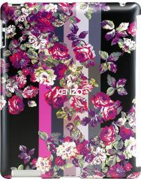 Чехол Kenzo Kila Cover для iPad2/iPad3 пластик черный + пленка на экран