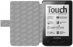 Чехол LaZarr Poсket Case для PocketBook Touch 613 эко кожа, черный