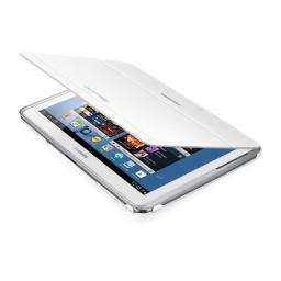 Чехол Samsung для Galaxy Note N8000 книжка, белый