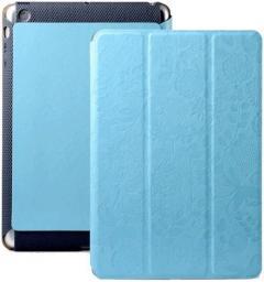 Чехол Gissar Flora для iPad mini голубой