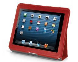 Чехол LaZarr Folio Case для Apple iPad 4, кожа, красный