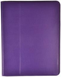 Чехол LaZarr Folio Case для Apple iPad 4, кожа, фиолетовый