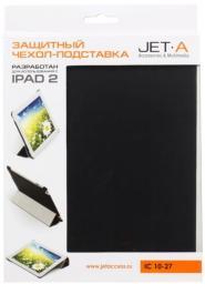 """Чехол Jet.A для iPad 10"""" IC10-27N из полиуретана Черный"""