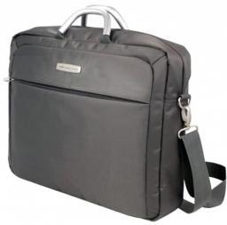 """Сумка для ноутбука Jet.A LB17-06 до 17,3"""" ( 445*120*340) Серый /серый интерьер"""
