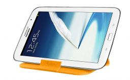 Чехол LaZarr Folding Sleeve для планшетов до 8 дюймов, кожа, оранжевый