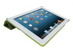 Чехол LaZarr iSmart Case для Apple iPad 4/New iPad, эко кожа,зеленый