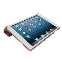 Чехол LaZarr iSmart Case для Apple iPad Mini, эко кожа,розовый