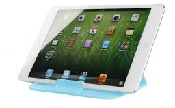 Чехол LaZarr Folding Sleeve для планшетов до 10 дюймов, кожа, голубой