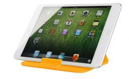 Чехол LaZarr Folding Sleeve для планшетов до 10 дюймов, кожа, оранжевый