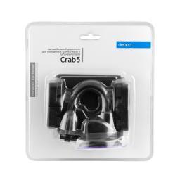 Автомобильный держатель Deppa Crab 5, универсальный для планшетных компьютеров, гибкая штанга
