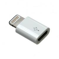 Адаптер Deppa для Apple 8-pin –micro USB, белый