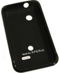 Чехол Muvit for Xperia Minigel для Sony Xperia Tipo пластик черный