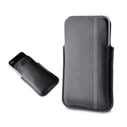 Чехол Muvit Pocket Slim для iPhone 5 кожа черный