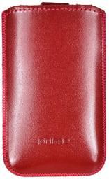 Чехол кожаный Prime Classic универсальный, M, красный лак