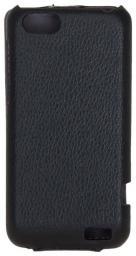 Чехол LaZarr Protective Case для HTC One V, эко кожа, черный