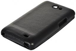 Чехол LaZarr Protective Case для Samsung Galaxy S2 i9100, эко кожа, черный