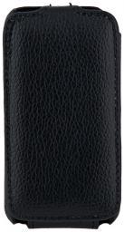 Чехол LaZarr Protective Case для Samsung S5230, эко кожа, черный