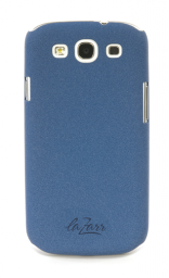 Защитная крышка LaZarr Soft Touch для Samsung Galaxy S3 i9300, пластик, синий