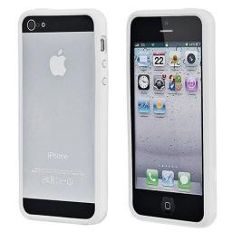 Чехол Deppa для Apple iPhone 5 Bumper, белый