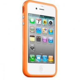 Чехол Deppa для Apple iPhone 5 Bumper, оранжевый