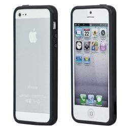 Чехол Deppa для Apple iPhone 5 Bumper, черный