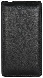 Чехол LaZarr Protective Case для HTC Windows Phone 8S, эко кожа, черный