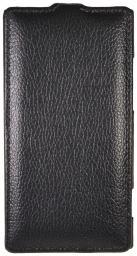 Чехол LaZarr Protective Case для HTC Windows Phone 8X, эко кожа, черный