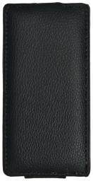 Чехол LaZarr Protective Case для Sony Xperia J (ST26i), эко кожа, черный
