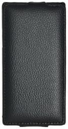 Чехол LaZarr Protective Case для Sony Xperia SL (LT26ii), эко кожа, черный