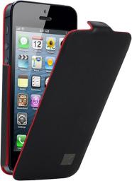 Чехол Kenzo Chik Case для iPhone 5 кожа черный