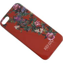 Чехол Kenzo Exotic Cover для iPhone 5 пластик красный + пленка на экран