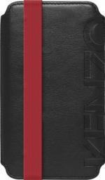 Чехол Kenzo Moleskine Logo Case для iPhone 5 кожа черный
