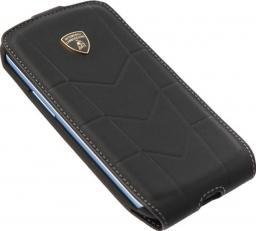 Чехол Lamborghini Cover Aventador D1 для Samsung S3 I9300 кожа черный
