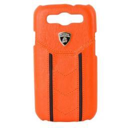 Чехол Lamborghini Cover Gallardo D2 для Samsung S3 I9300 кожа оранж