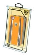 Чехол Lamborghini Cover Superleggera D1 для Samsung S3 I9300 пластик оранжевый