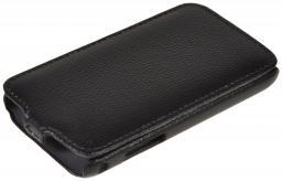 Чехол LaZarr Protective Case для Samsung Galaxy S scLCD i9003, эко кожа, черный