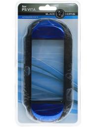 Чехол защитный Black Horns PS VITA алюминиевый синий